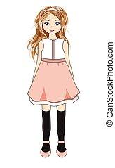 little lovely girl