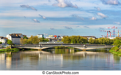 The Loire River in Nantes, France - The Loire River in ...