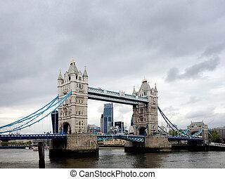london bridge and city views