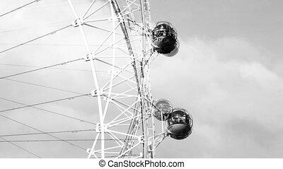 the london eye millenium wheel