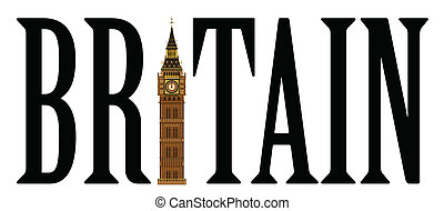 Big Ben - The London landmark the Big Ben Clocktower...