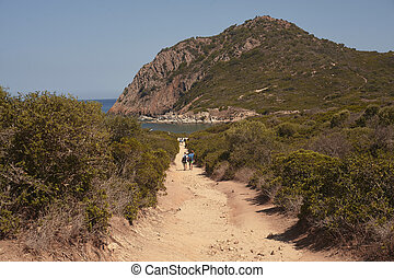 The long excursion between the mounts of Sardinia