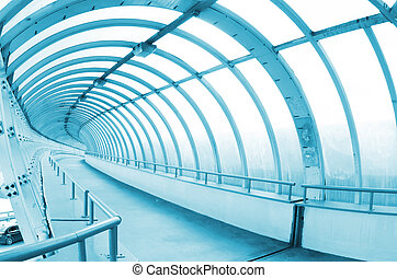 The long passage in airport