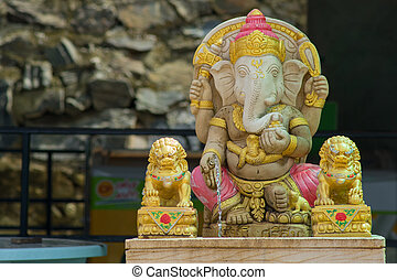 The Lord of Success Ganesha Statue