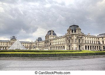 The Louvre Museum. Paris, France