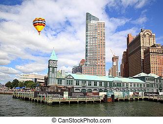 The Lower Manhattan New York City