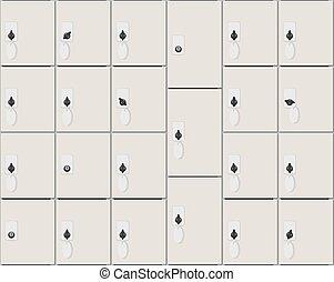The Luggage storage seamless pattern - Camera temporary...
