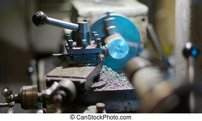 The machine for metal working