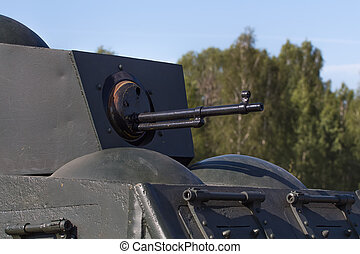 the machine gun during the second world war