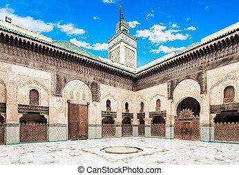 Madrasa Bou Inania - The Madrasa Bou Inania is a madrasa in...