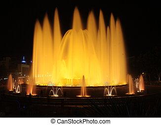 The Magic Fountain of Montju