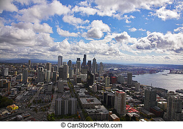 The magnificent American city of Seattle