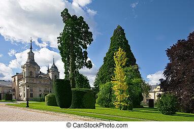 The magnificent ancient castle in Segovia