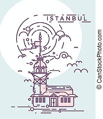 The Maiden Tower, Istanbul