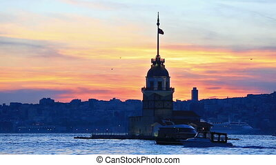 The Maiden's Tower, Istanbul, Turkey