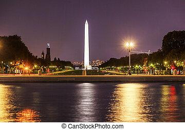 The Mall Smithsonian Washington Monument US Grant Memorial Eveni