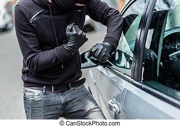 Car thief, car theft