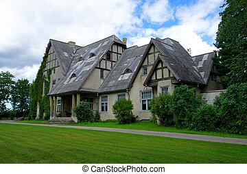The Manor - Manor in the west of Estonia. Paatsalu.