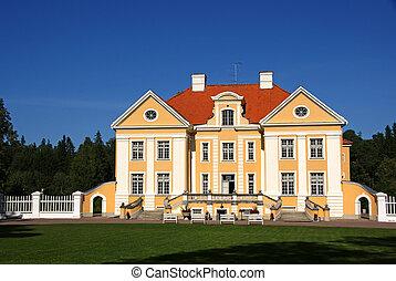 The Manor - Manor in the north of Estonia. 18 century....