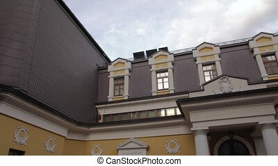 The Mansion Exterior - The mansion exterior building facade...