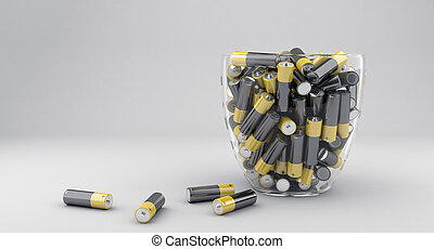 The many batteries