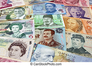 The many different faces of money from around the world