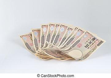 many japanese yen, japan money