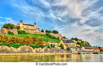 The Marienberg Fortress in Wurzburg, Germany