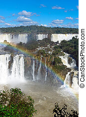 The marvelous Iguazu falls