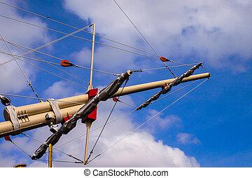 The mast ship