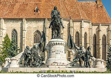 The Matthias Corvinus Monument is a historic monument in...