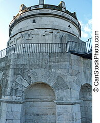 The Mausoleum of Theodoric in Ravenna, Italy