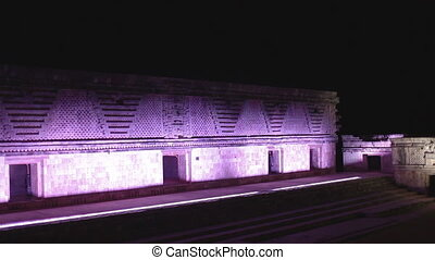 the mayan ruins at uxmal, mexico. the mayans believe that...