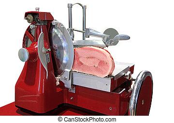 mechanism for ham cutting