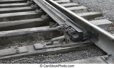 swapping the rails of the railroad