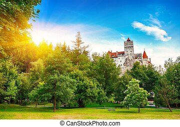 The medieval Castle of Bran known for the myth of Dracula