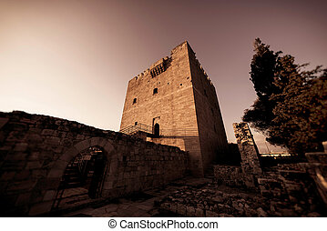 The medieval castle of Kolossi. Limassol District, Cyprus