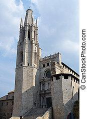 The medieval church of Saint Feliu