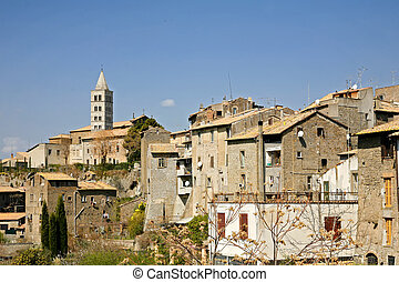 the medieval  city of Viterbo (Lazio, Italy)