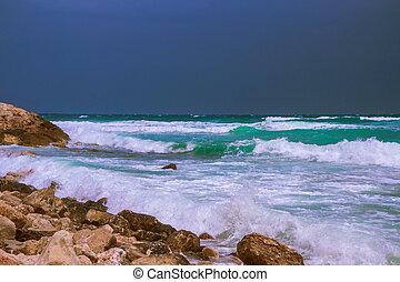 The Mediterranean Sea is worried