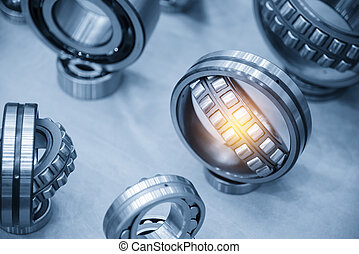 The metal  ball bearing spare part