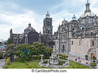 The Metropolitan Cathedral of the Assumption of Mary of Mexico C