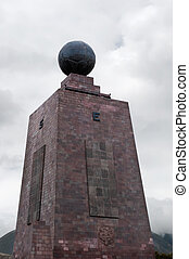 The midpoint of the globe in Equador - The midpoint of the...