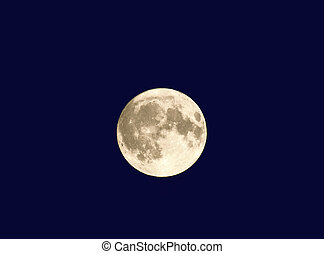 The Midsummers Eve Full Moon 21.6.2005. - Full moon...