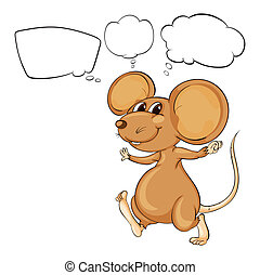 The mighty brown mouse - Illustration of the mighty brown...