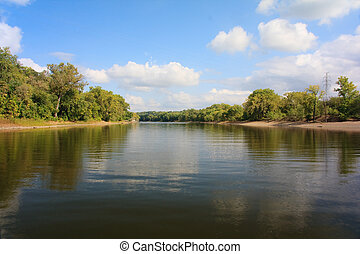 Mississippi River - The mighty Mississippi River