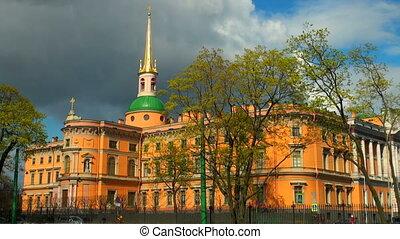 The Mikhailovsky castle in St. Petersburg