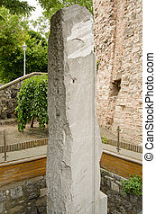 The Milion Stone, Istanbul