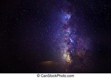 The Milky Way in August