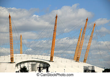 Millennium Dome - The Millennium Dome originally used to...